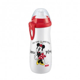Nuk First Choice PP Sports Cup 36m+ Disney Mickey Παγουράκι με Καπάκι Push-Pull Άσπρο 450ml