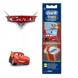 OralB Stages Power Kids Cars Ανταλλακτικά 2 τεμάχια