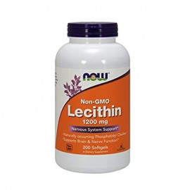 Now Foods Lecithin 1200 mg 200 softgels
