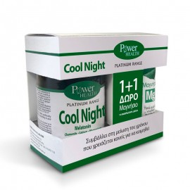 POWER HEALTH Classics Platinum Range Cool Night 30caps +ΔΩΡΟ Magnesium 10eff.caps