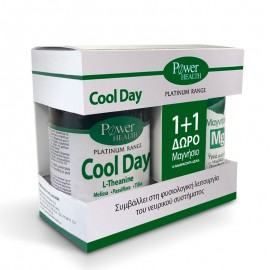 Power Health Classics Platinum Range Cool Day 30caps + Δώρο Power Health Magnesium 10tabs