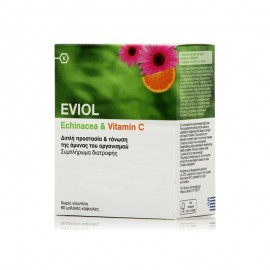 Eviol Echinacea & Vitamin C 60 caps