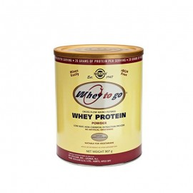 SOLGAR WHEY TO GO PROTEIN Powder Βανίλια 907gr