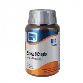 Quest Stress B Complex with Vitamin C 500mg, 60tabs