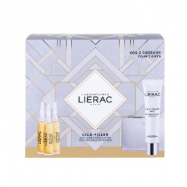 LIERAC PROMO PACK CICA FILLER Serum Anti Rides Reparateur (3x10ml) ΜΕ ΔΩΡΟ MAT Gel-Creme Anti Rides Reparatrice (40ml) & Κομψό Πορτοφόλι