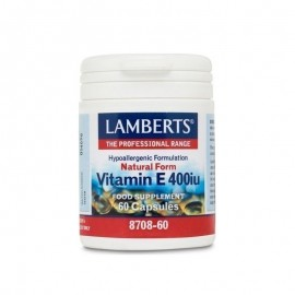 Lamberts Natural Form Vitamin E 400iu 60caps