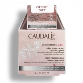 Caudalie Promo Resveratrol Lift Night Infusion Cream 50ml & ΔΩΡΟ Face Lifting Soft Day Cream 15ml