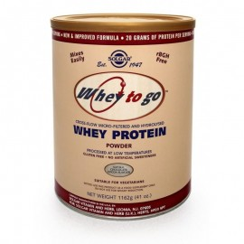 SOLGAR WHEY TO GO PROTEIN  FLAVOR  Chocolate 907gr