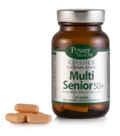 Power Health Classics Platinum Range Multi Senior 50+, 30 δισκία