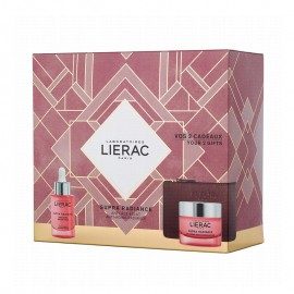 LIERAC - PROMO PACK SUPRA RADIANCE Serum Detox Booster dEclat 30ml & ΔΩΡΟ Gel-Creme Renovatrice Anti-Ox (50ml) & Κομψό Πορτοφόλι