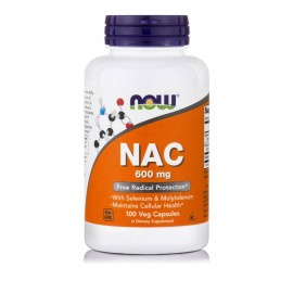 Now Foods NAC 600mg 100Veg.caps