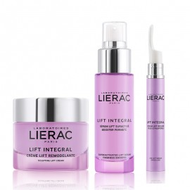 LIERAC Promo Anti-Age  LIFT INTEGRAL Serum Lift Suractive Booster Fermete 30ml + LIERAC LIFT INTEGRAL Creme Lift Remodelante 50ml PN/PS+LIERAC LIFT INTEGRAL Serum Lift Regard Yeux & Paupieres 15ml