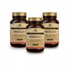 SOLGAR Omega-3 triple strength 3x50softgels