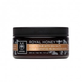 Apivita Royal Honey Body Scrub Sea Salts 200ml