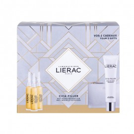 LIERAC PROMO PACK CICA FILLER Serum Anti Rides Reparateur (3x10ml) ΜΕ ΔΩΡΟ Creme Anti Rides Reparatrice (40ml) & Κομψό Πορτοφόλι