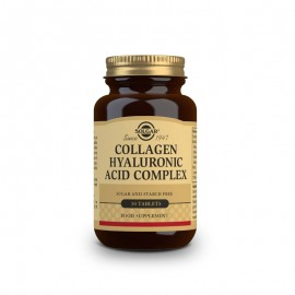 SOLGAR COLLAGEN HYALURONIC ACID COMPLEX  30tabs